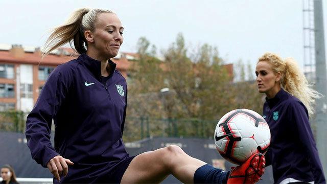 Toni Duggan: Sería genial jugar en el Camp Nou, pero no si solo vienen 5000 personas