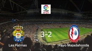 Tres puntos para el equipo local: Las Palmas 3-2 Rayo Majadahonda