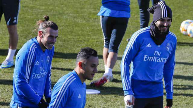 Último entrenamiento del Real Madrid con todos los disponibles salvo Vallejo