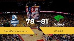 El Unicaja se hace con la victoria contra el MoraBanc Andorra por 78-81