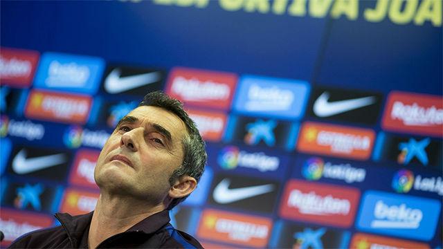 Valverde: La baja de Dembéle es inesperada y una fatalidad