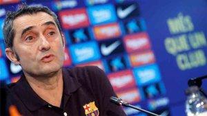 Valverde habló de Umtiti