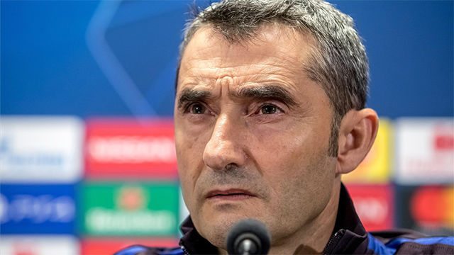 Valverde, sobre el aplazamiento Clásico: Que la guerra Federación-LaLiga no salpique