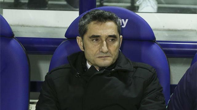 Valverde, sobre Coutinho: Si no está contento tiene que trabajar para revertir la situación