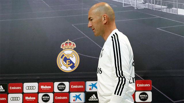Zidane abandona la concentración en Montreal por motivos personales