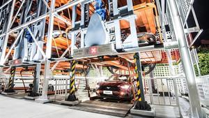 La máquina servirá para que los usuarios puedan probar coches Ford.