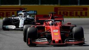 Vettel, por delante de Hamilton en Canadá