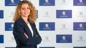 Hélèn Bouteleau, directora general de Peugeot para España y Portugal.