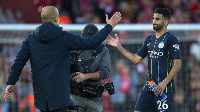 """Mahrez: """"Con Guardiola aprendo sin parar cada día"""""""