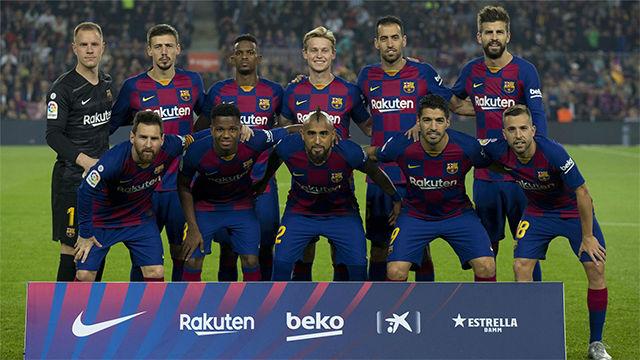 El 1x1 del Barça ante el Valladolid en el descanso