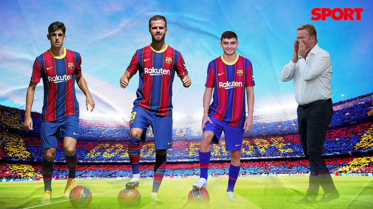 El 1x1 de los debutantes en el Camp Nou
