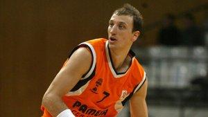 Abbio, en su época como jugador del Valencia Basket