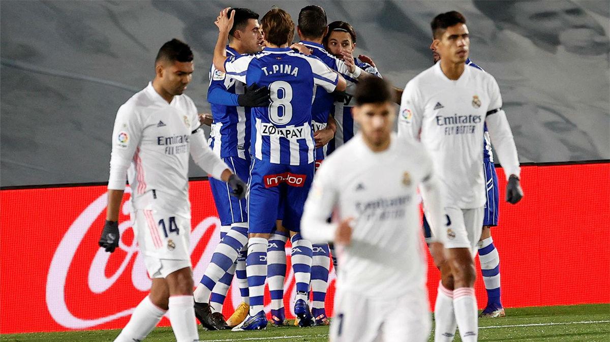 El Alavés saca los colores al Real Madrid en el Alfredo Di Stéfano
