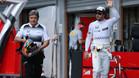 Alonso acabó contento en el GP Bélgica