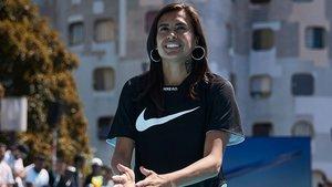 Andressa Alves fue una de las protagonistas de la presentación de las nuevas Nike Mercurial 360 en París