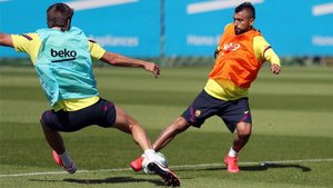 Arturo Vidal prepara el retorno de Liga con la intensidad habitual