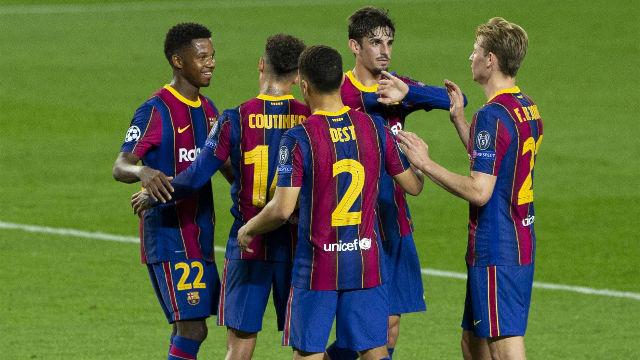 Así fue el estreno con goleada del Baby Barça