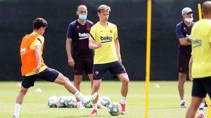 El Barça se entrenará el lunes ya con toda la plantilla junta