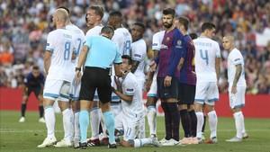 El Barça se estrenó con goleada en la Champions 2018 - 2019