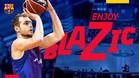 Blazic llega al Barça Lassa para mejorar la zona exterior