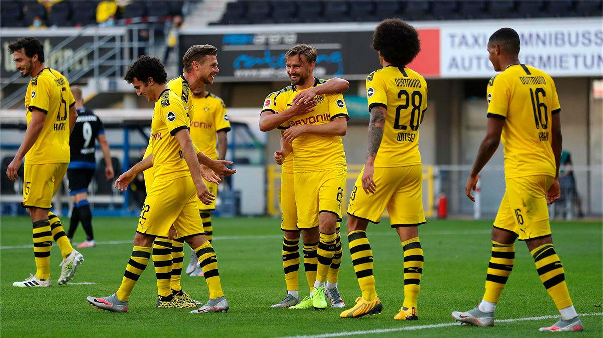 El Borussia goleó al Paderborn