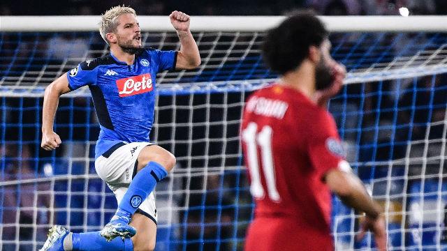 El campeón Liverpool sucumbe en Nápoles