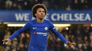 El Chelsea pretende ahora convencer a Willian