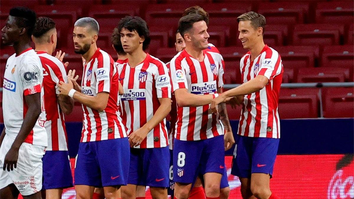 Cómoda victoria del Atlético ante el Mallorca