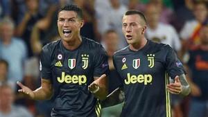 Cristiano Ronaldo fue expulsado en Mestalla