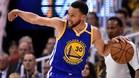 Curry cumplió con el promedio que había conseguido en los siete partidos anteriores de playoffs (26,7 puntos)