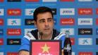 David Gallego, entrenador del Espanyol