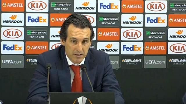 Emery se reencontrará con el Valencia: Será una eliminatoria muy dura