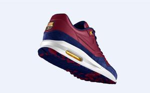 Nike lanza las 'Air Max 1' con el escudo del Barça