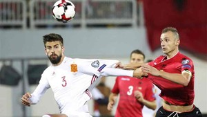España se enfrenta este viernes a Albania