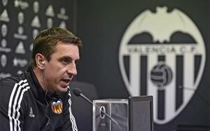 Gary Neville, entrenador del Valencia CF