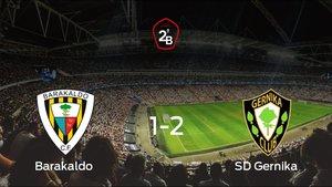 El SD Gernika vence en el Nuevo Lasesarre al Barakaldo (1-2)