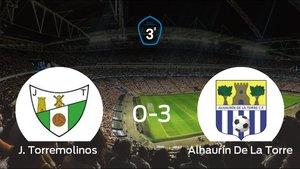 Goleada del Alhaurín De La Torre por 0-3 frente al Torremolinos