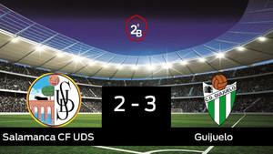 El Guijuelo se impone por 2-3 al Salamanca UDS