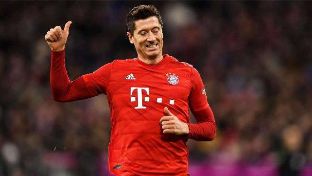 Le histórico póker de Lewandowski con el Bayern