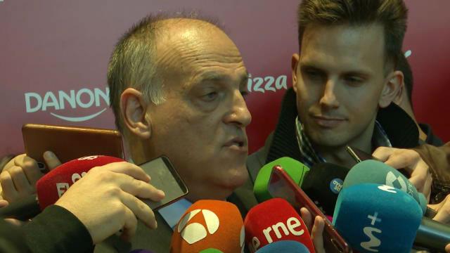 Javier Tebas sobre El Clásico: Está marcado el día 18, no vamos a pedir ninguna medida