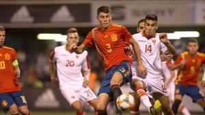 Jorge Cuenca es un pilar del Barça y de la selección sub-21