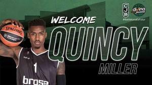 El Joventut ha fichado a Quincy Miller