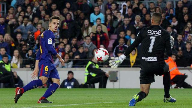 LACOPA | FC Barcelona - Murcia (5-0): El gol de Denis Suárez