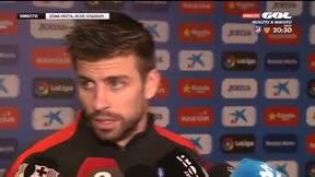 LALIGA   Espanyol-Barça (1-1)   Gerard Pique: Que cada uno saque sus propias conclusiones