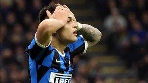 Lautaro Martínez ha recibido críticas en el Inter de Milán
