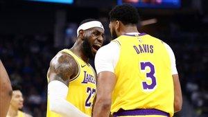 LeBron y Davis unen sus fuerzas para hacer campeones a los Lakers