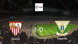 Leganés suffers defeat against Sevilla with a 1-0 at Ramon Sanchez Pizjuan