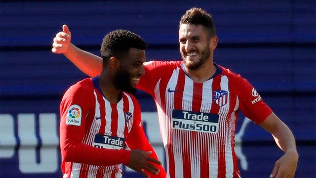 Lemar dio los tres puntos al Atlético en Ipurúa
