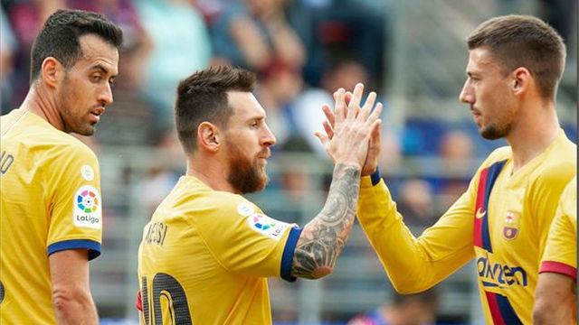Lenglet, sobre Messi: Es muy sencillo, y nos ayuda cada día