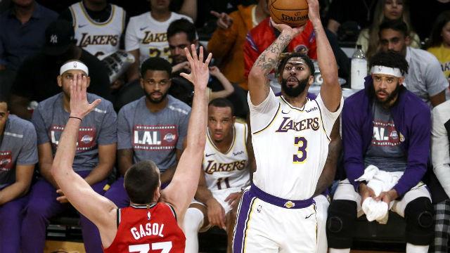 Los Raptors paran la fiesta de los Lakers